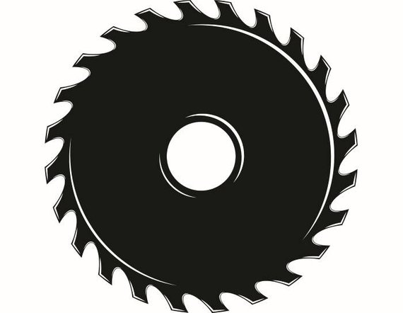 Saw blade cutting cut. Carpentry clipart hardware tool