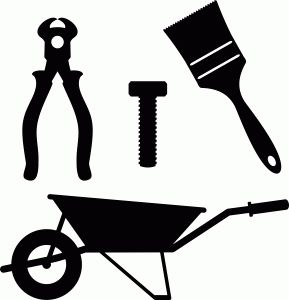 Carpentry clipart joinery tool.  best silhouettes vectors
