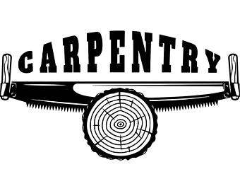 Carpenter svg file etsy. Carpentry clipart logo
