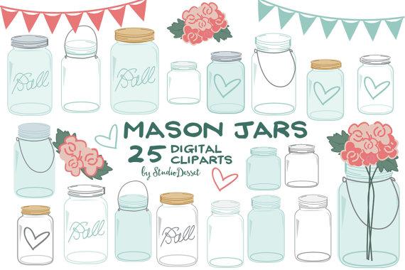 Mason jars cliparts shabby. Carpentry clipart masonry