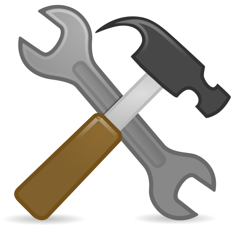 Hand clipart wrench.  collection of free