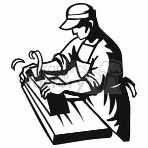 Carpenter black and white. Carpentry clipart wood tech