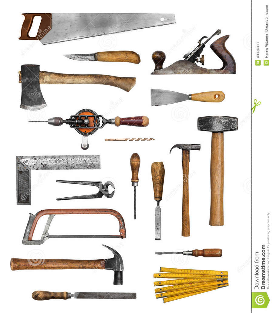 Carpentry clipart woodworking tool. Download old carpenter tools