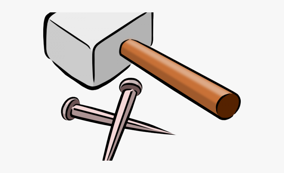 Joinery animated and nail. Hammer clipart carpentry tool