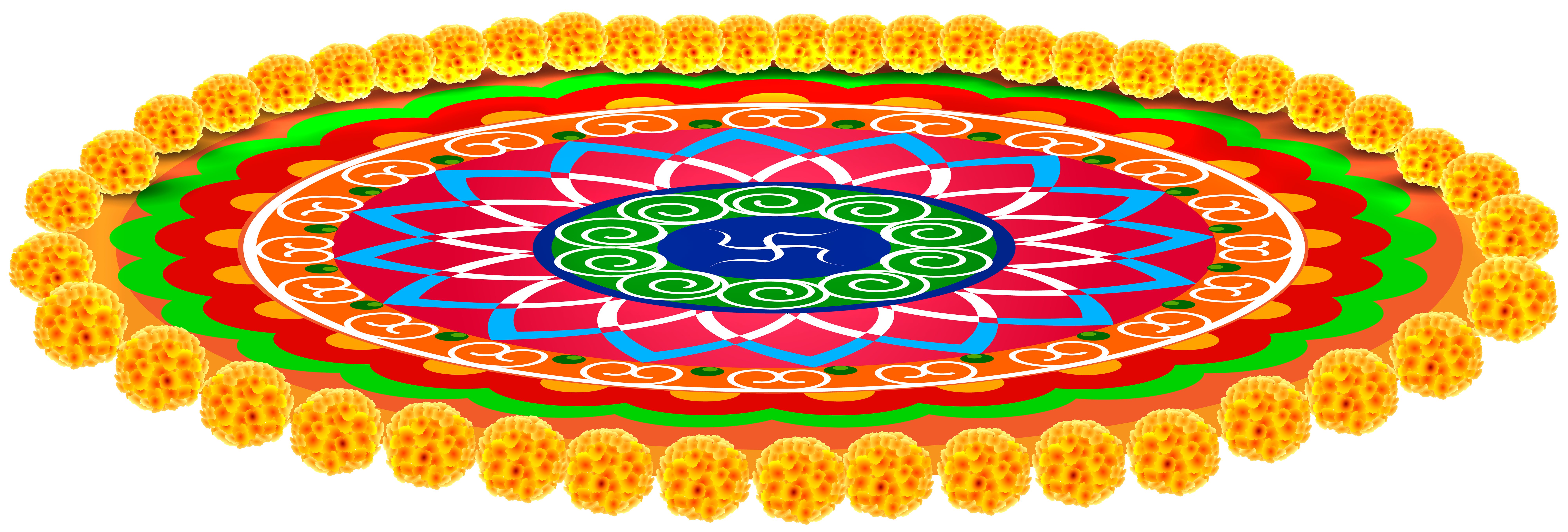 Student clipart carpet. Indian with flowers transparent