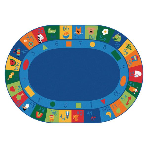 Rugs schoolsin learning blocks. Carpet clipart alphabet