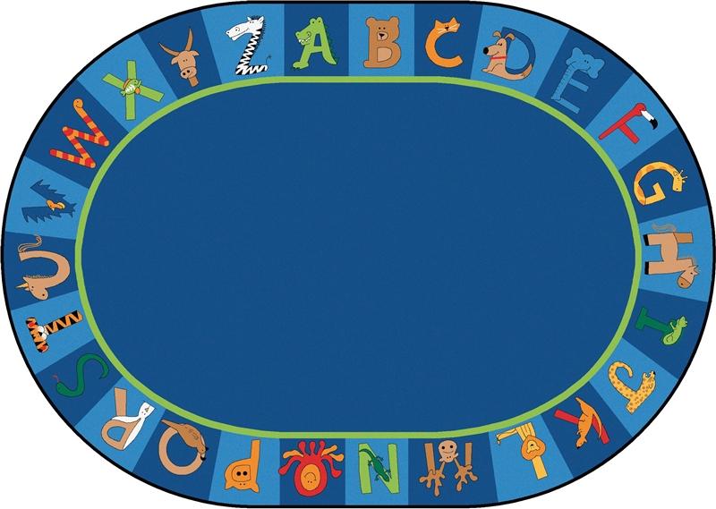 Carpet clipart alphabet. A to z animals