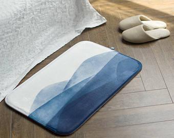 Bath mats rugs etsy. Carpet clipart bathroom rug