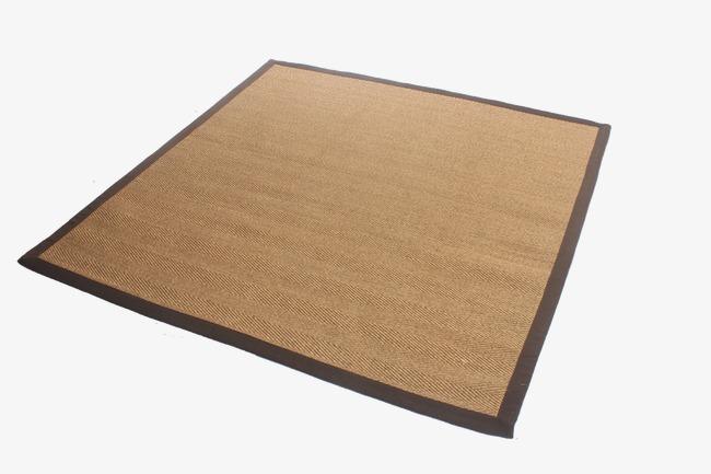 Household sisal handmade carpets. Carpet clipart floor carpet