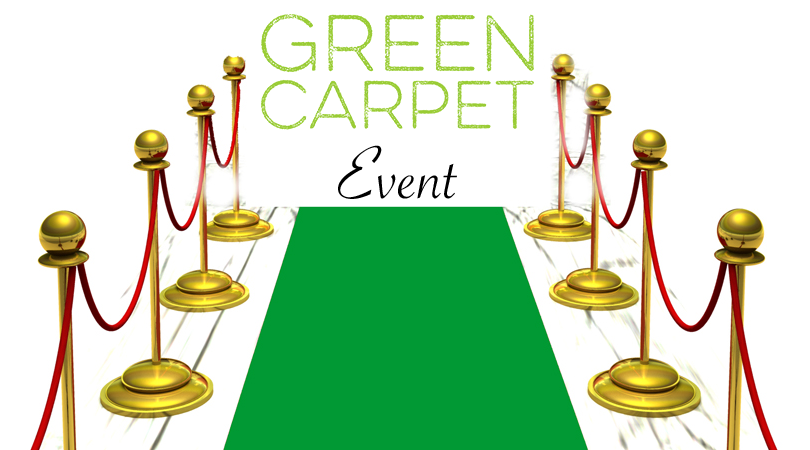 Tampa networking event january. Carpet clipart green carpet