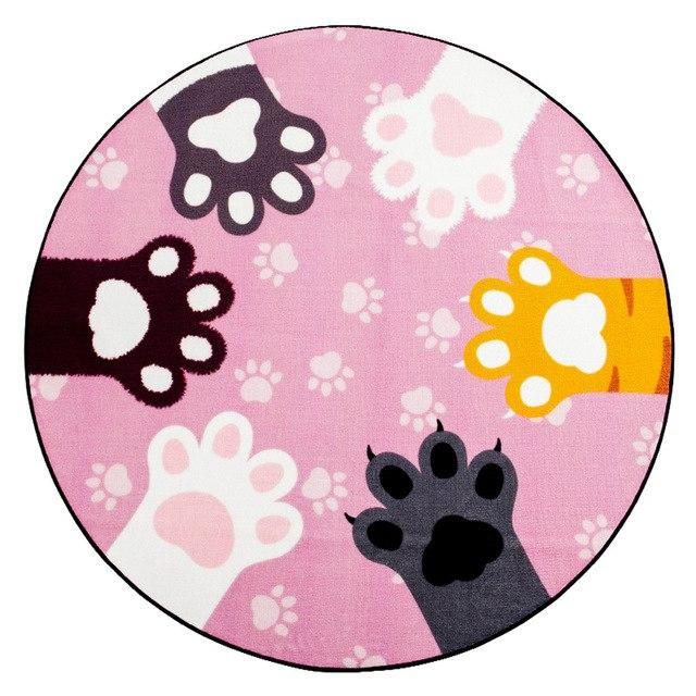 Carpet clipart pink rug. Black gray cute cats