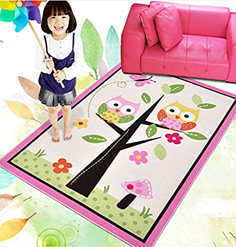 Amazon com huahoo kids. Carpet clipart pink rug