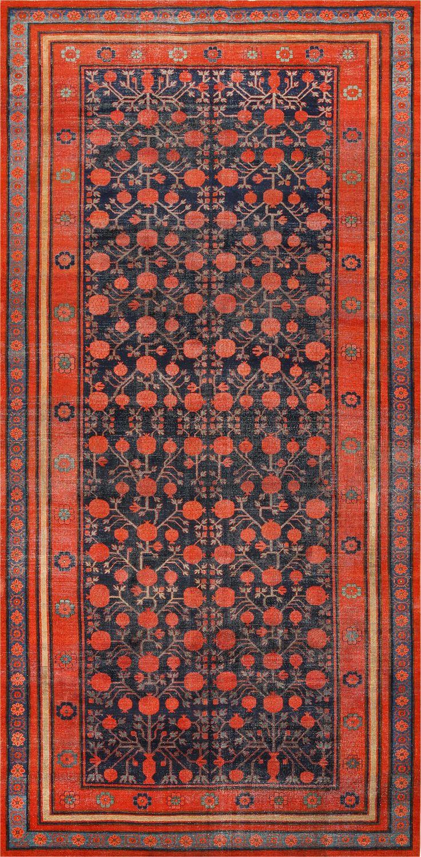 Carpet clipart red rug.  best antique khotan