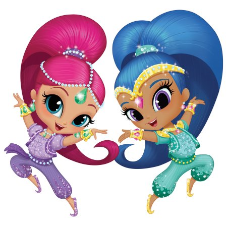 Party edible cake topper. Carpet clipart shimmer and shine