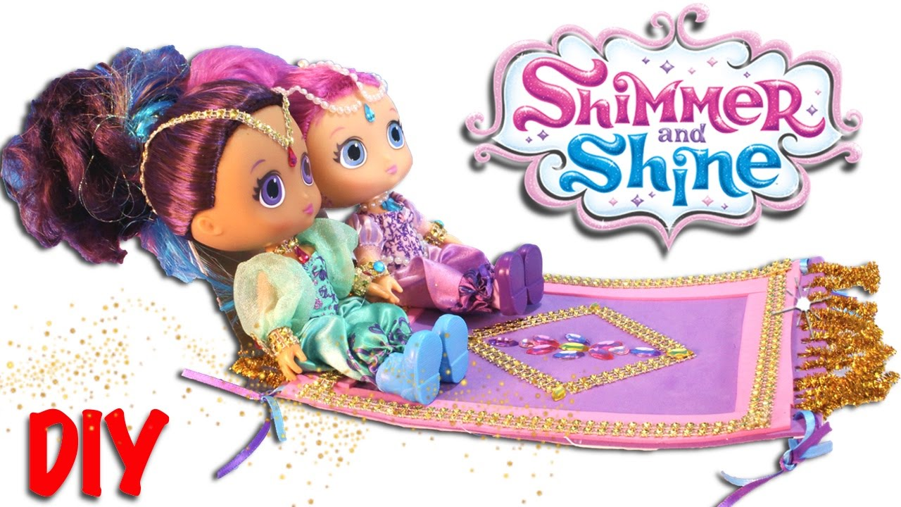 Carpet clipart shimmer and shine. Toys magic flying diy
