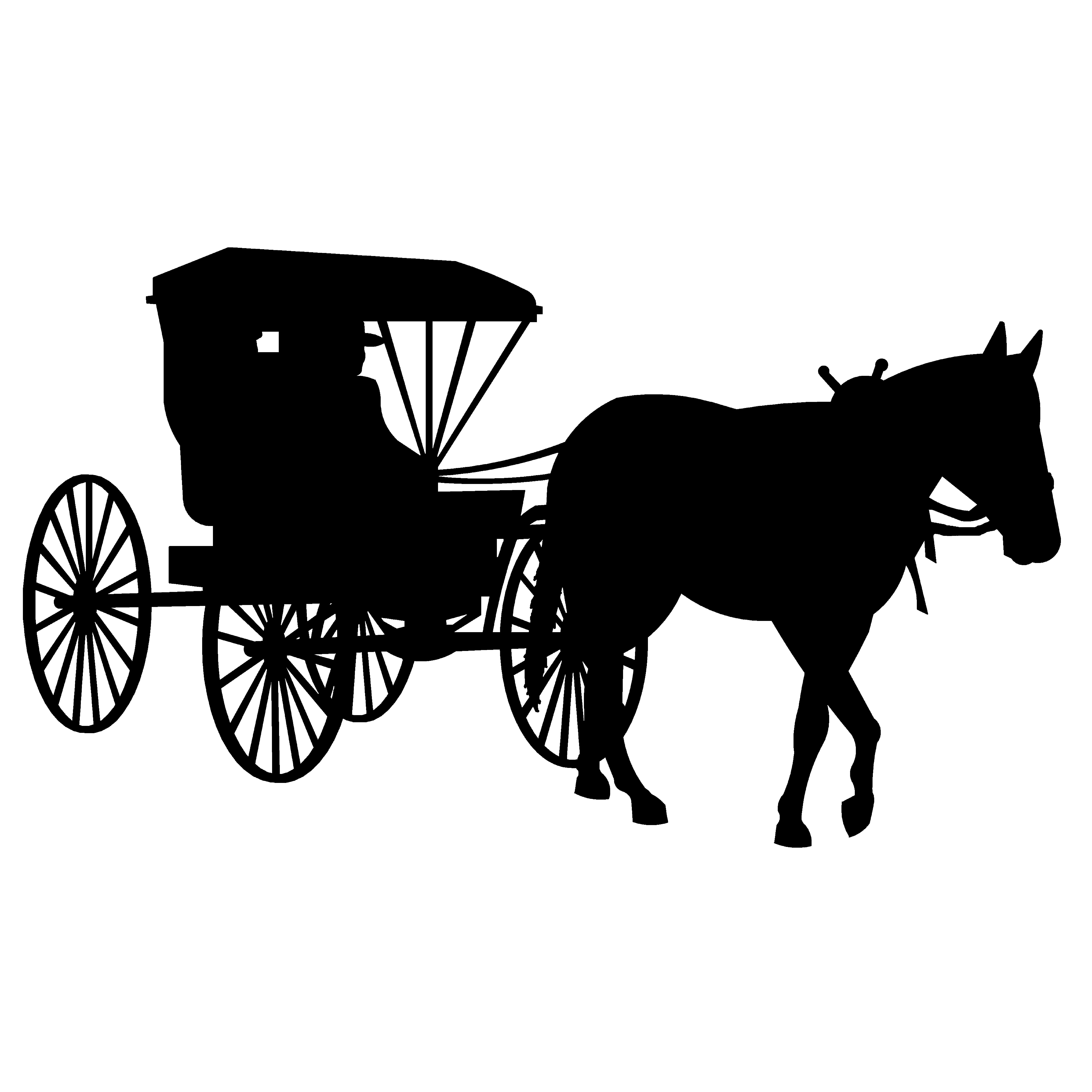 Cart amish pencil and. Wagon clipart buggy
