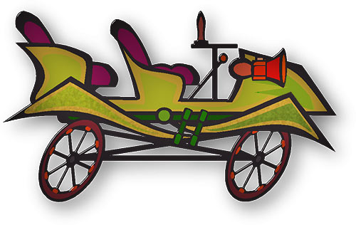 Car graphics convertibles fast. Carriage clipart animated
