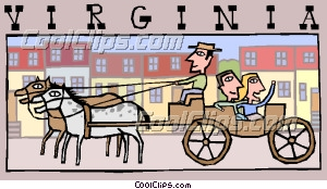 Horse drawn pinart horsedrawn. Carriage clipart animated