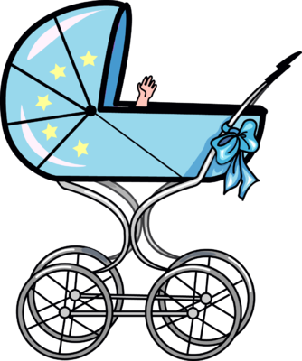 Image baby clip art. Carriage clipart buggy