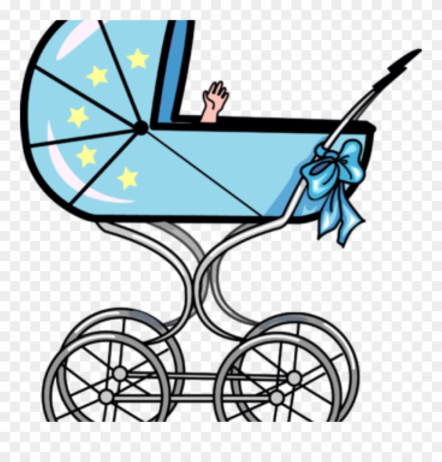 Carriage clipart buggy. Baby free image ba