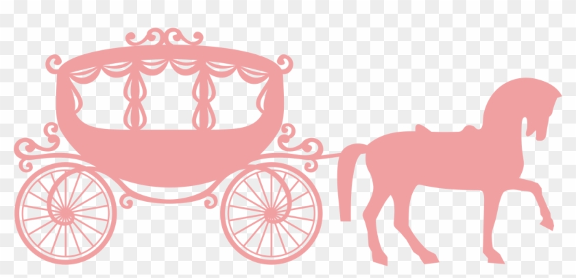 Horse and drawn vehicle. Carriage clipart buggy