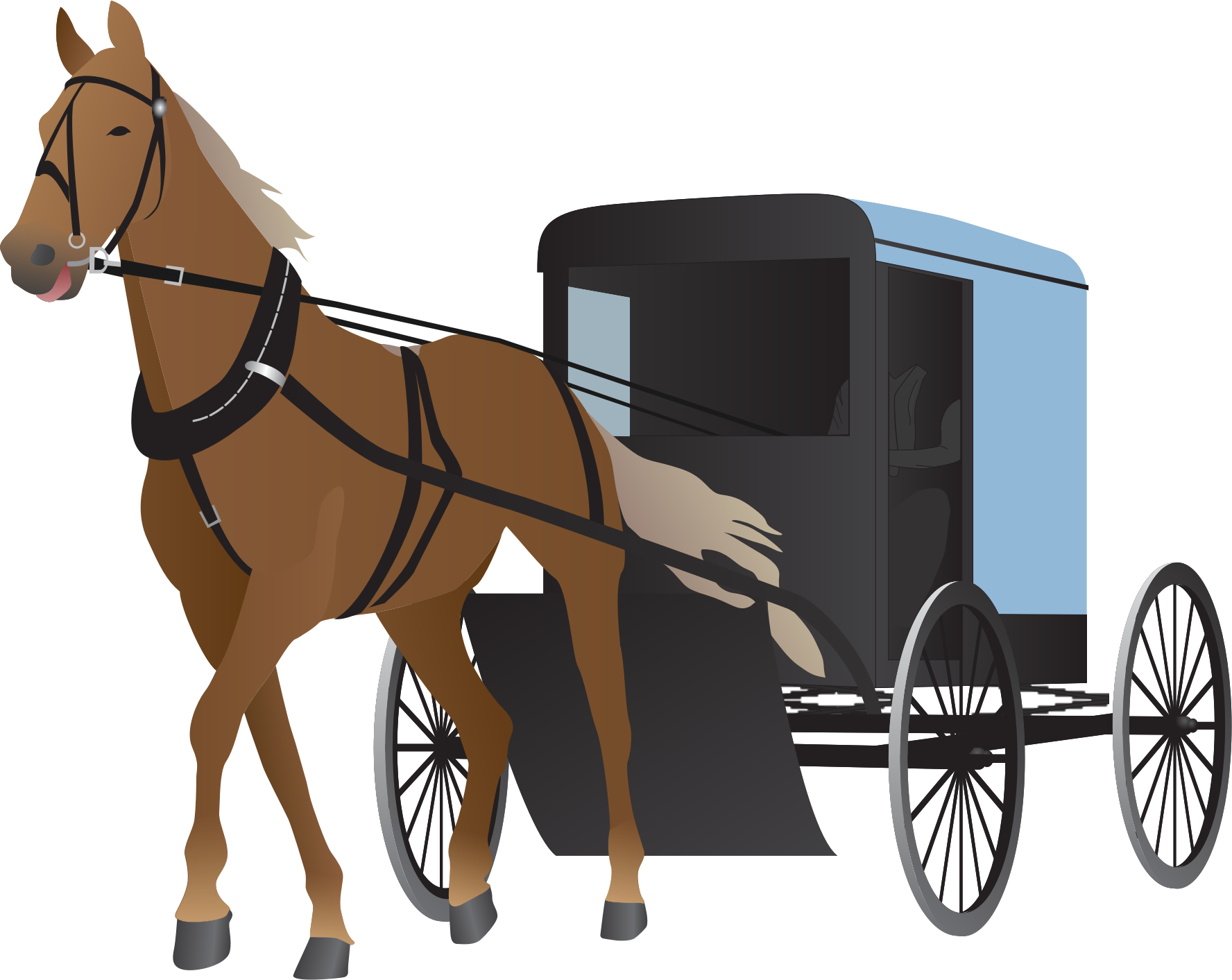 Horse carriage png hd. Indian clipart bullock cart