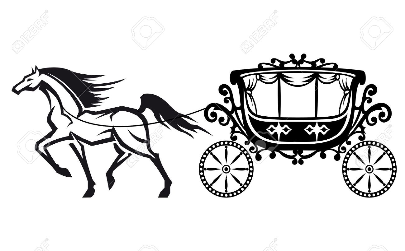 Carriage clipart chariot. Indian station