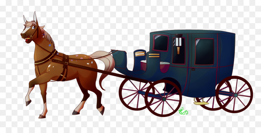 Horse and buggy wagon. Carriage clipart chariot