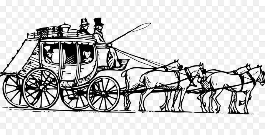 Carriage clipart chariot. Horse drawn vehicle coach