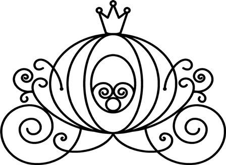 Free download clip art. Carriage clipart cinderella
