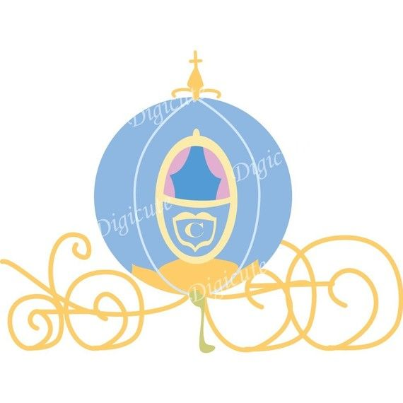 Disney princess cinderella s. Carriage clipart cindrella