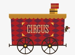 Carriage clipart circus. Truck wheel png image