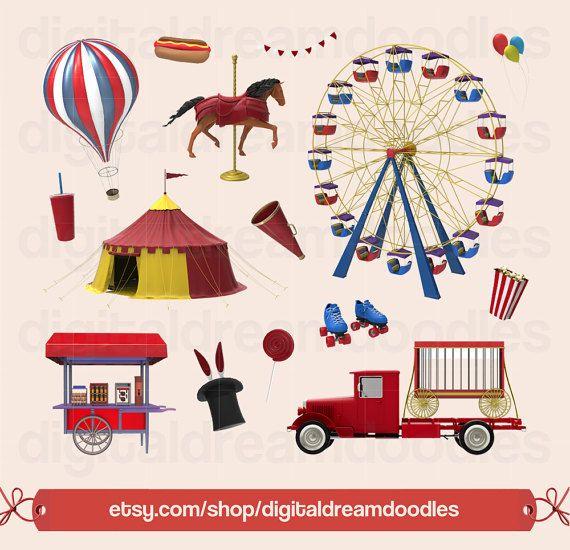 Carriage clipart circus. Carnival clip art ferris