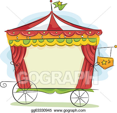 carriage clipart circus
