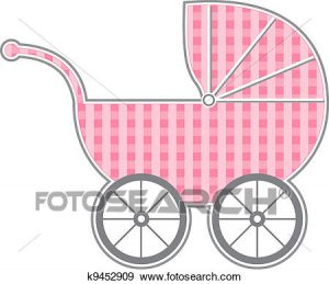 Baby of ba k. Carriage clipart clip art