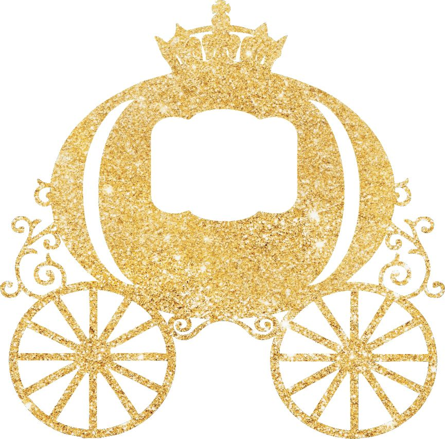 Carriage clipart glitter.  collection of princess