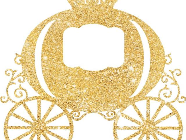 Carriage clipart glitter. Free download clip art