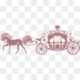 Carriage clipart gold carriage. Png and psd free
