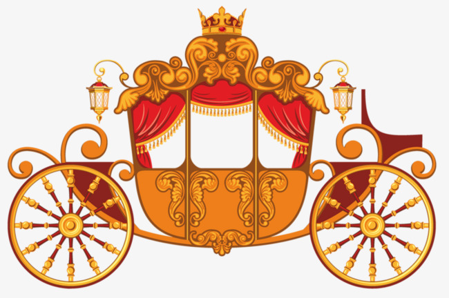 Pumpkin png image and. Carriage clipart gold carriage