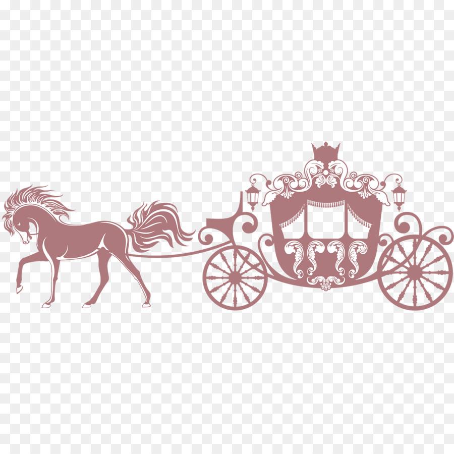 Clip art princess s. Carriage clipart horse carriage