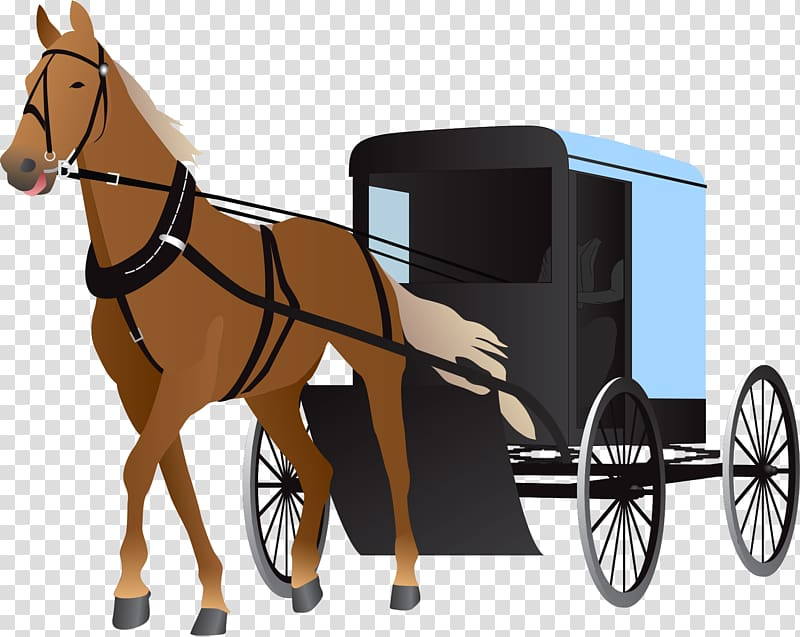 Horse and carriage transparent. Wagon clipart buggy