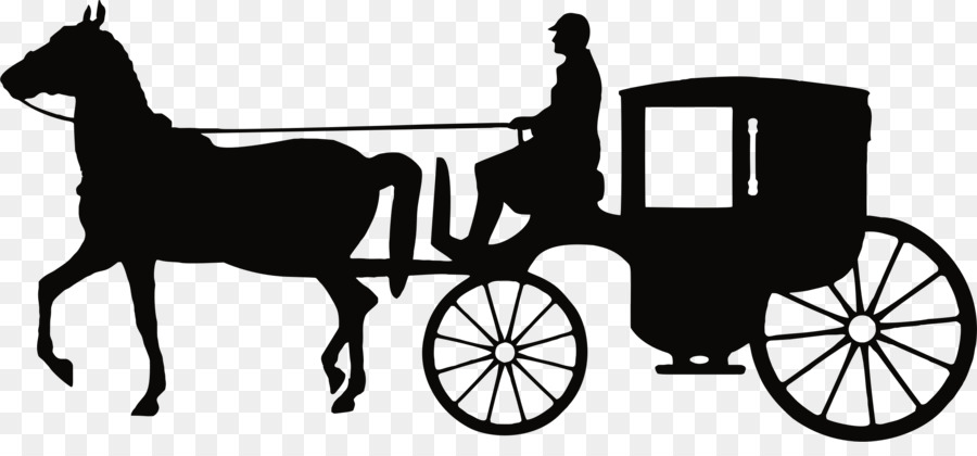 Carriage clipart horse carriage. Cartoon transparent clip art