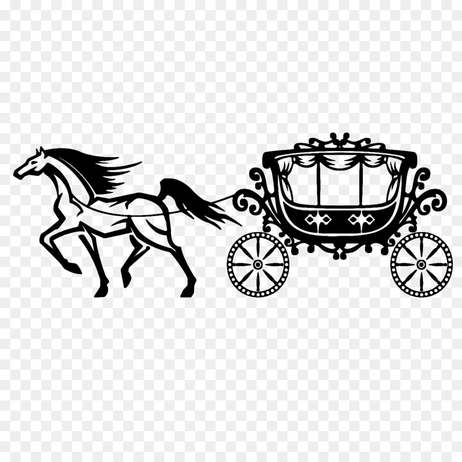 And buggy drawn vehicle. Carriage clipart horse cart