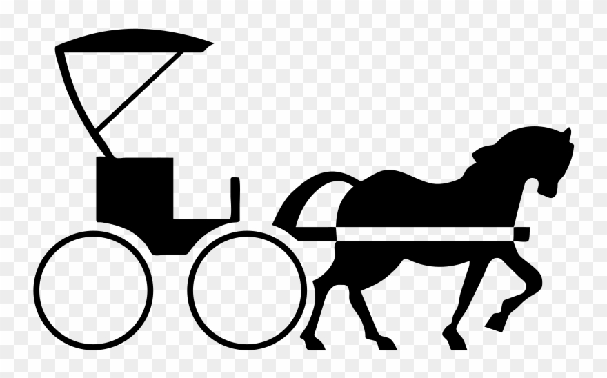 Transparent and buggy . Carriage clipart horse drawn