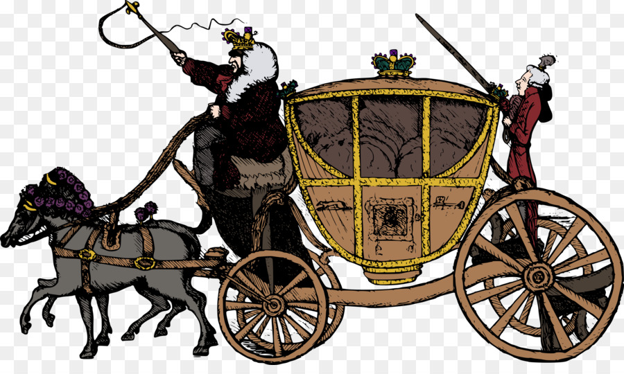 Carriage clipart horse drawn. And buggy fairy tale