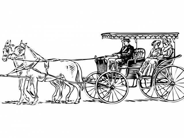 Free on dumielauxepices net. Carriage clipart horse drawn