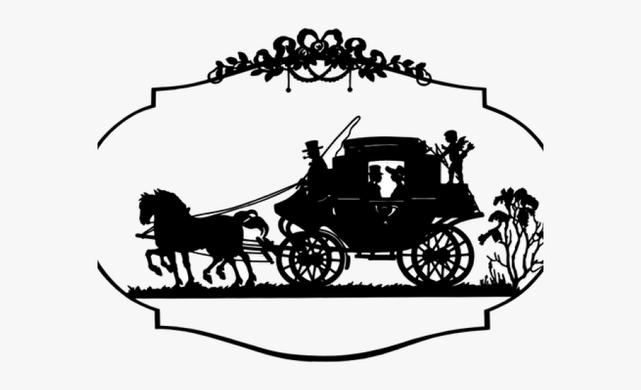 Wagon clipart horsecart. Picture freeuse library drawing