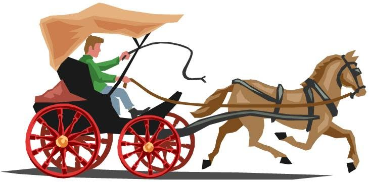 And free download best. Carriage clipart horse wagon