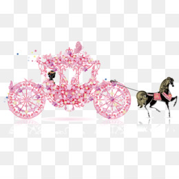 Carriage clipart invitation. Png and psd free