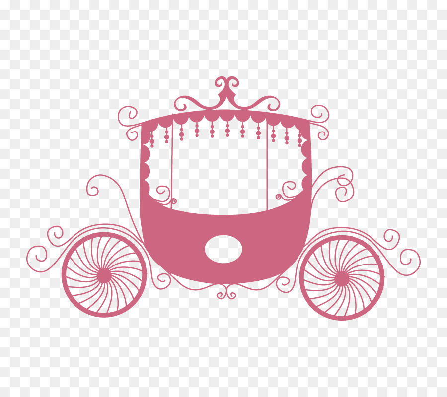 Carriage clipart invitation. Wedding wall decal sticker